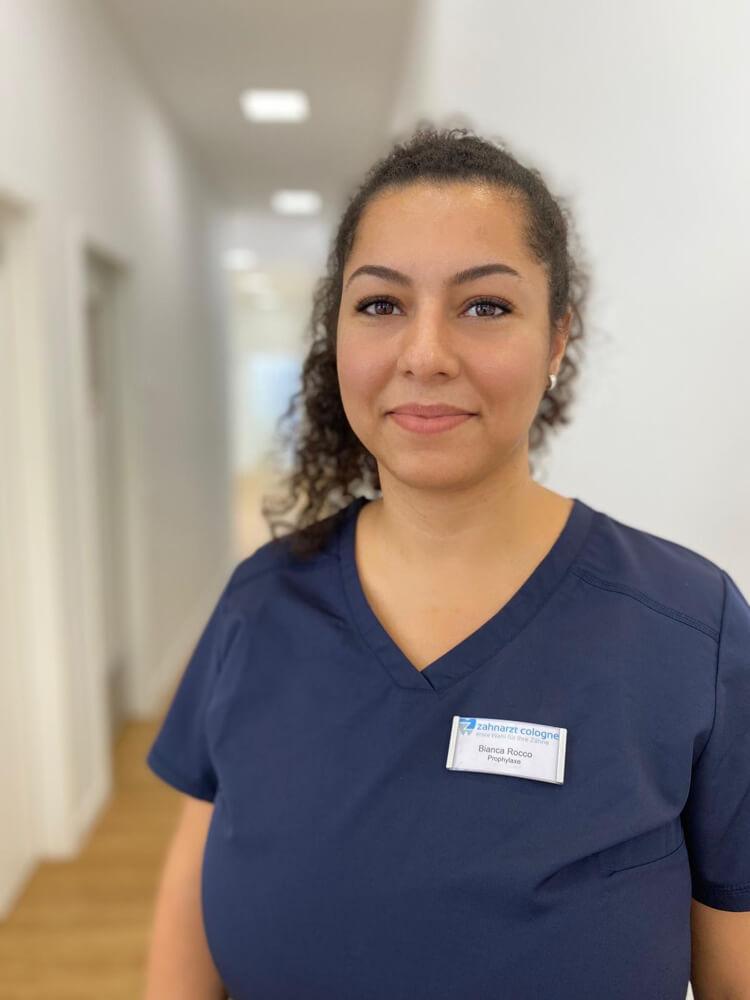 Bianca Roco - Prophylaxeleiterin und Qualitätssicherung